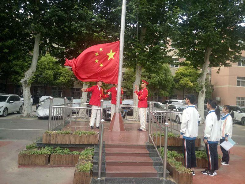 第十五周国旗下的演讲 一(6)班 李佳瑶